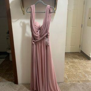 3XL (*runs small*) -BIRDY GREY BRIDESMAID DRESS